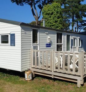 Camping le Quinquis location mobile-home