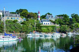 Camping Du Quinquis : marina de Clohars Carnoët