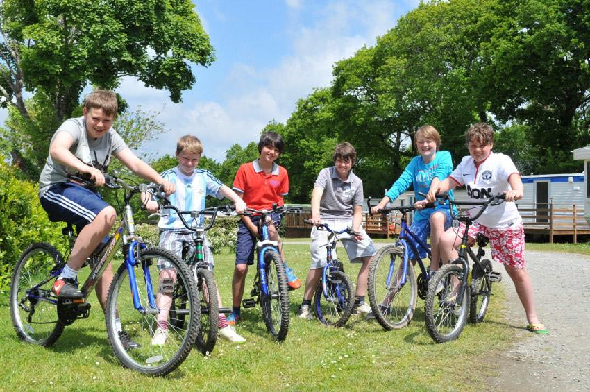 Camping Du Quinquis : Vélo