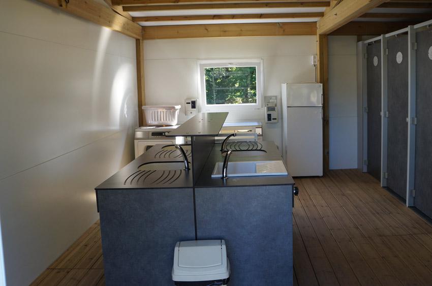 laverie Camping Quinquis