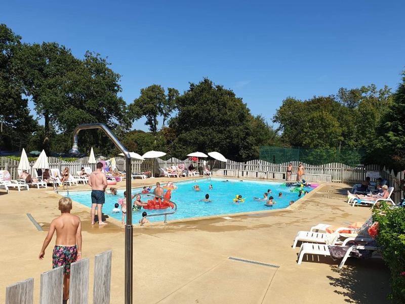 camping sud finistère avec piscine