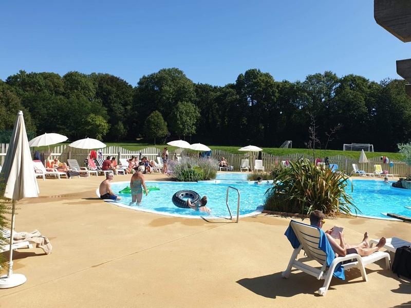camping piscine chauffée finistère