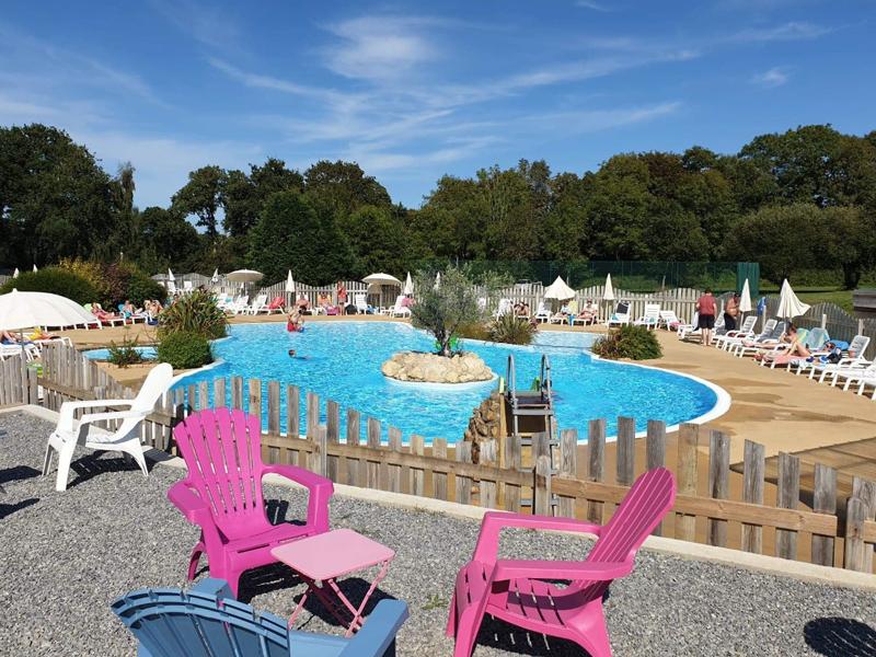 Camping clohars Carnoët avec piscine