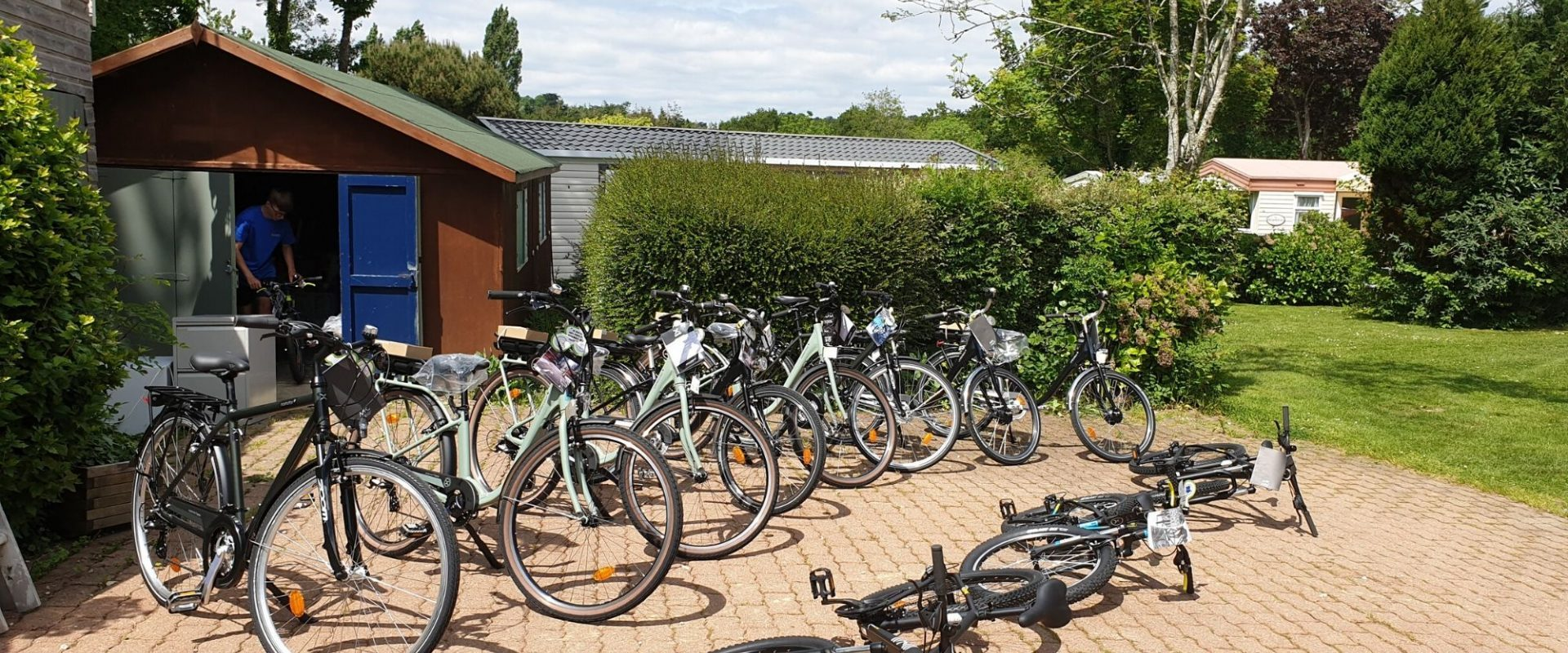 Clohars Carnoet Location Vélo Camping Du Quinquis