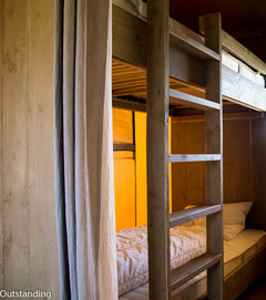 Camping Du Quinquis : Safari Tent Wood Outstanding (8)