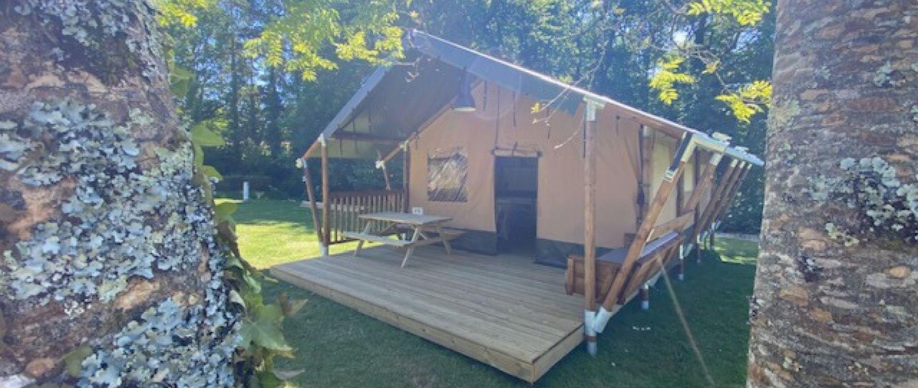 Camping Du Quinquis : Camping Du Quinquis Tente Safari Wood Camping Clohars Carnoet (2)