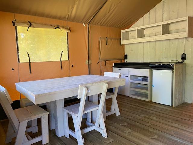 séjour en tente safari en bretagne sud